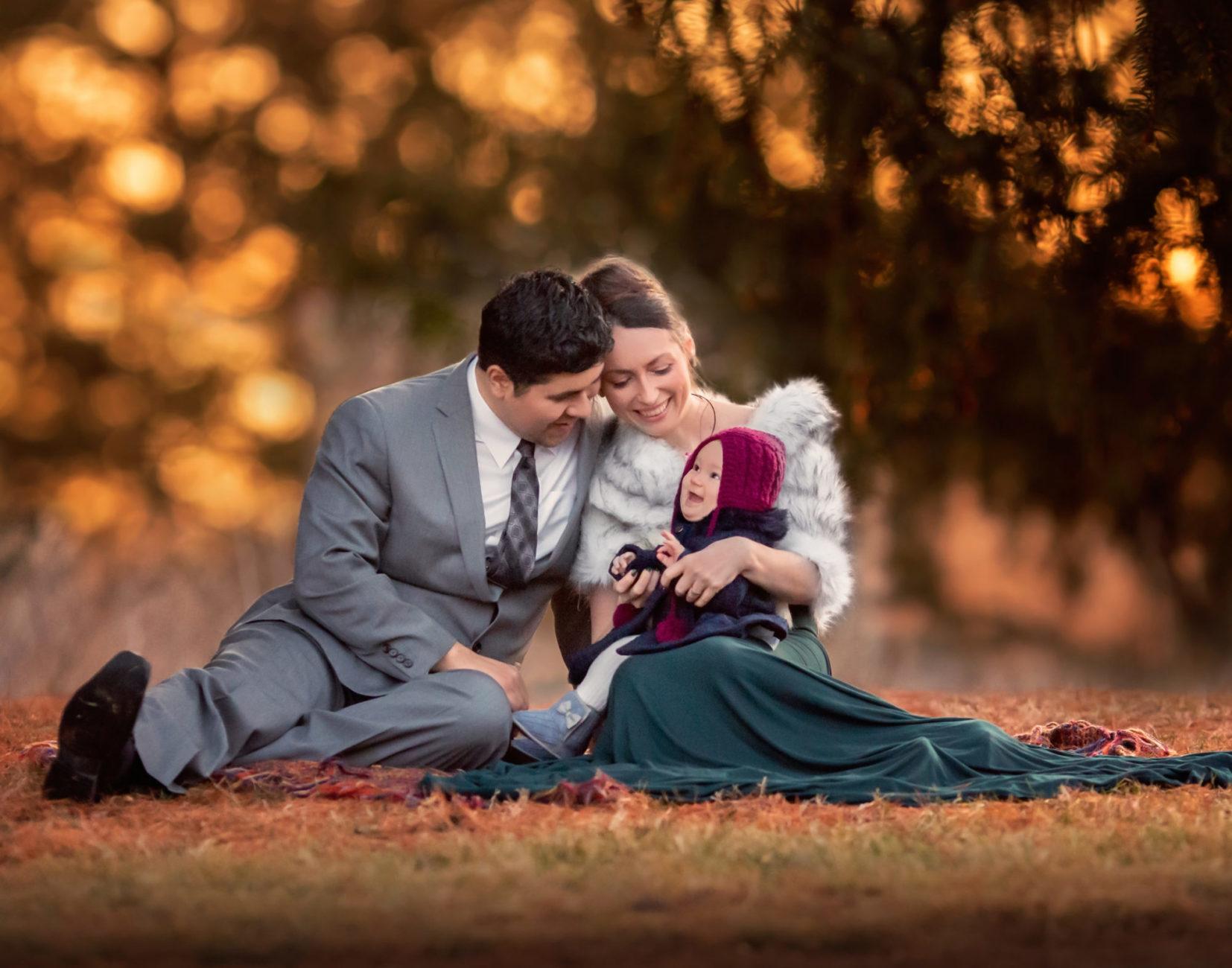 maternity family portrait session cedar rapids iowa