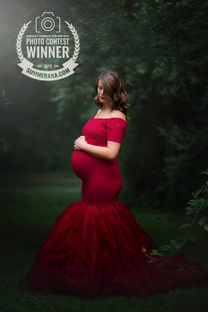 maternity photos cedar rapids