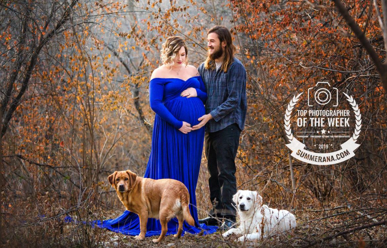 Andrea & Blake | Cedar Rapids Maternity Portraits Session