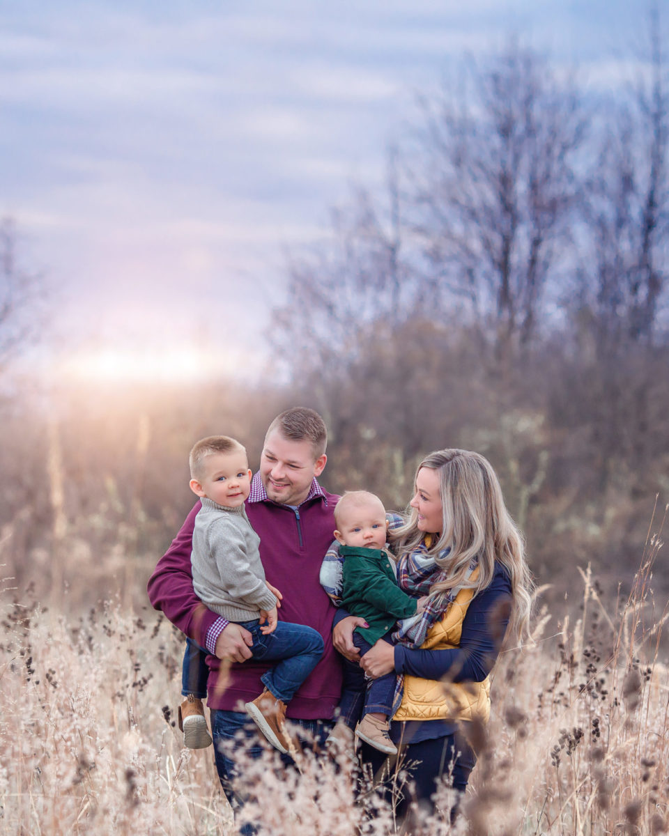 family photography in cedar rapids