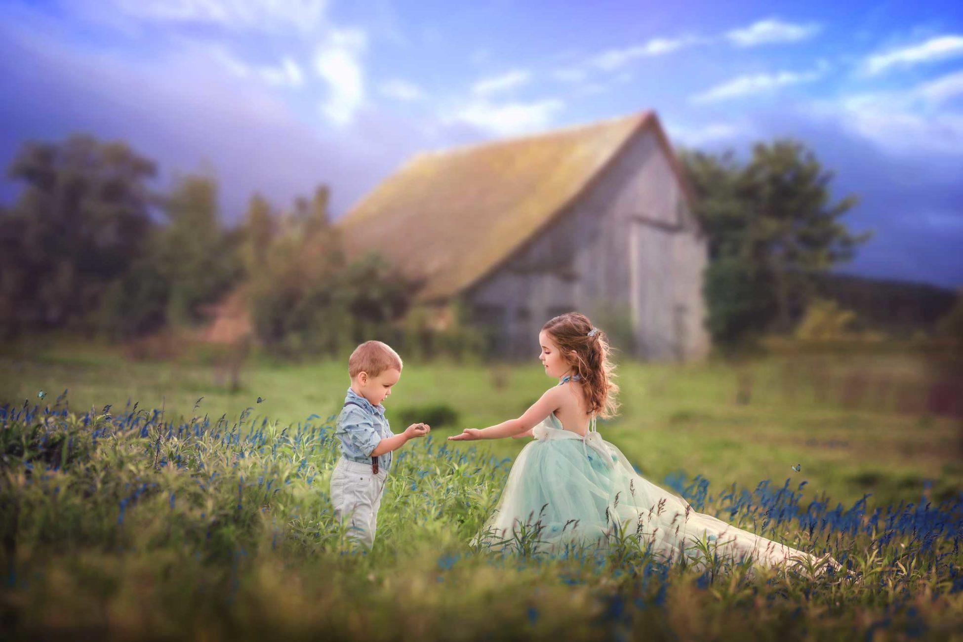 Mount Vernon IA children's photographer